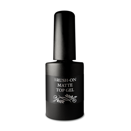 Završni gel - Brush-on UV Matte Top gel 10ml