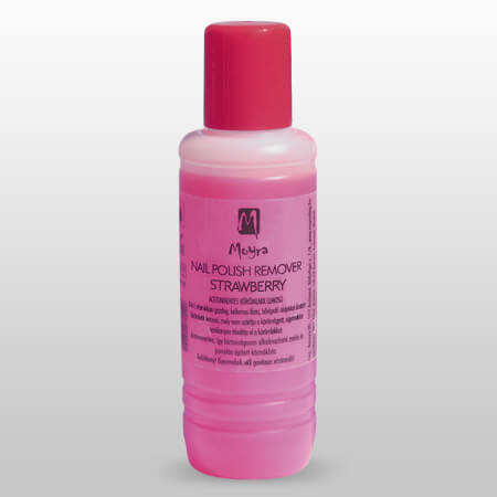 Aceton Free polish remover Strawberry