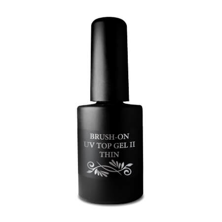 Završni gel za nokte brush on UV top gel II Thin 10 ml