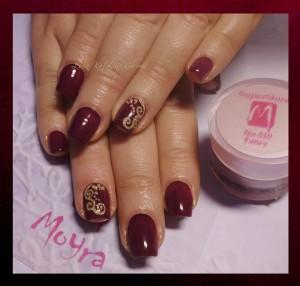 Gel u boji Supershine 510 Fancy, Vamp glitter No. 06