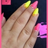 Gel u boji SuperShine neon pink i neon žuti