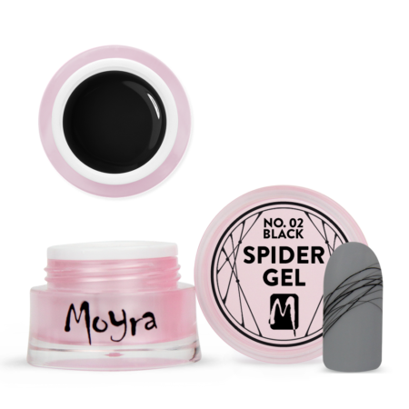 Spider gel crni